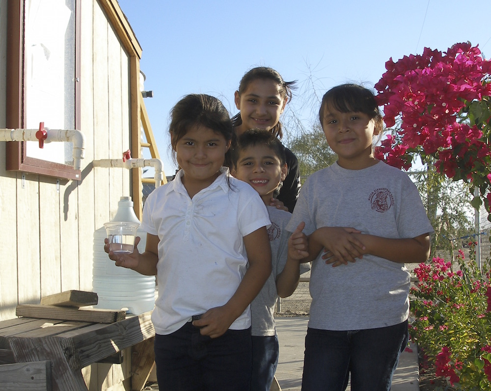 Rotary Club of Cathedral City  Helping provide safe drinking water.