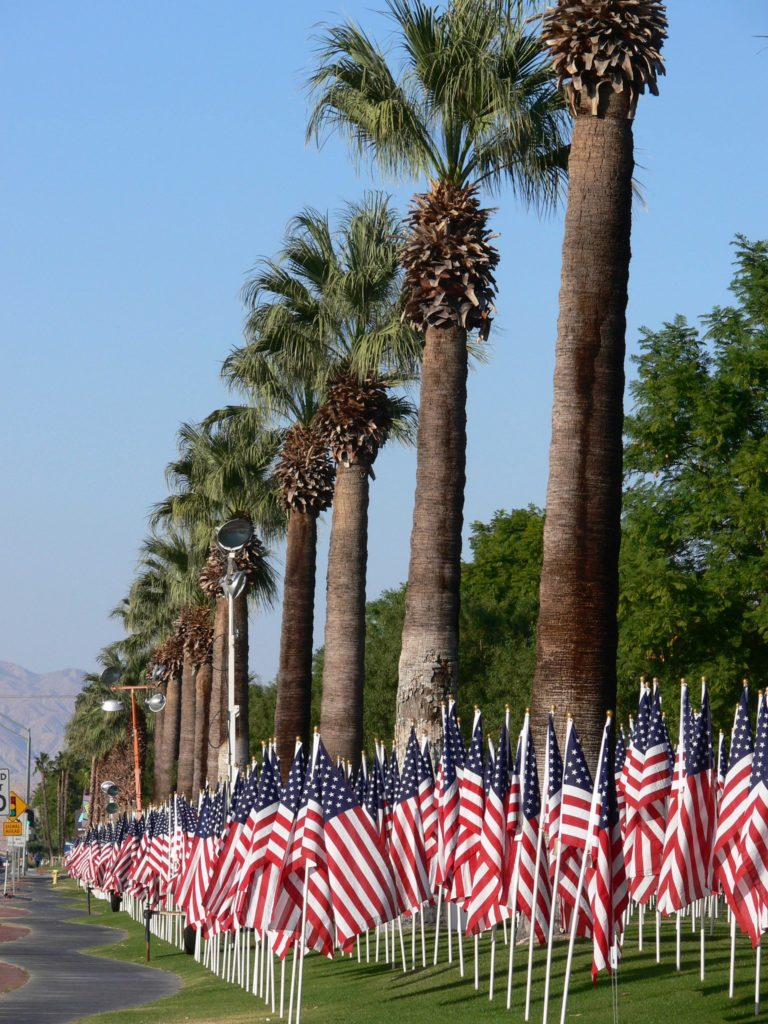 Each November, the Rotary Club of Cathedral City honors our fallen veterans with its annual Healing Field event.