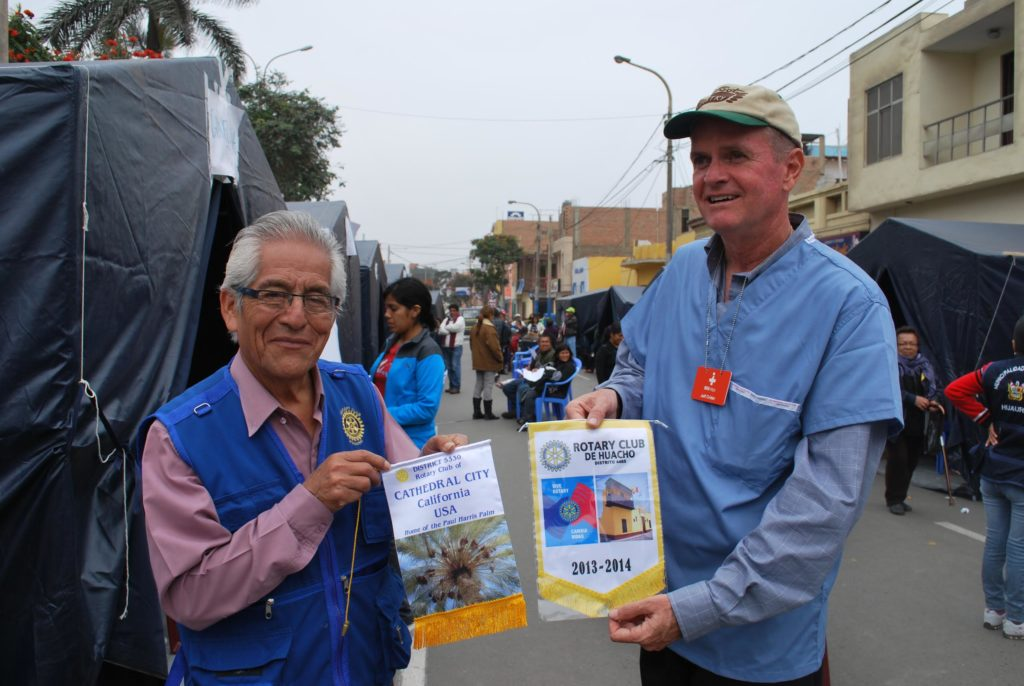 Rotary Club of Cathedral City  International Projects