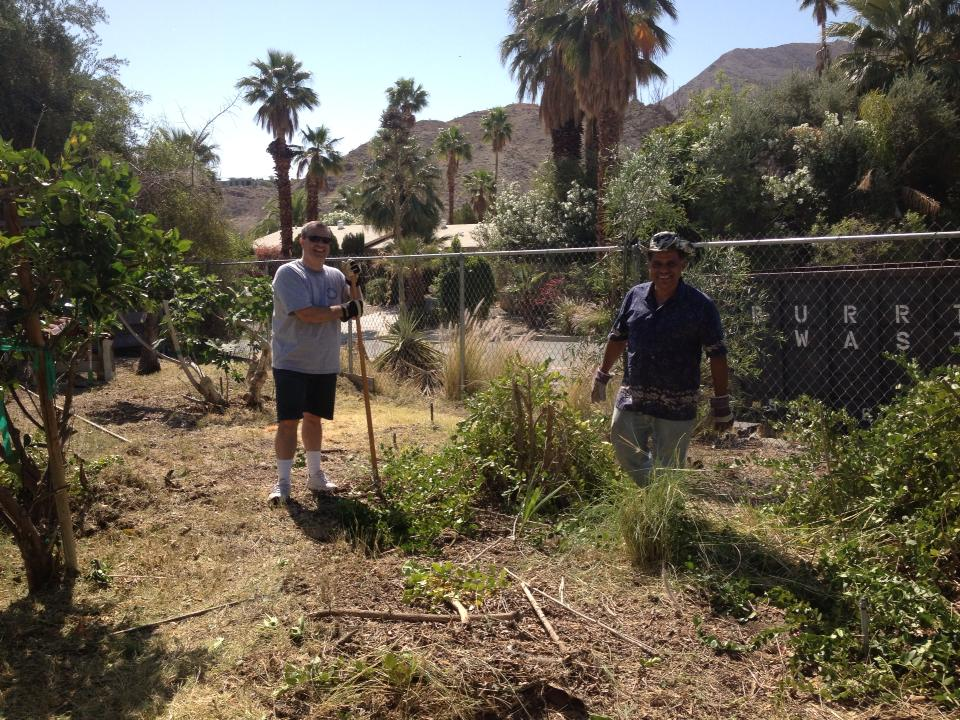 Rotary Club of Cathedral City  Community Improvement Projects.